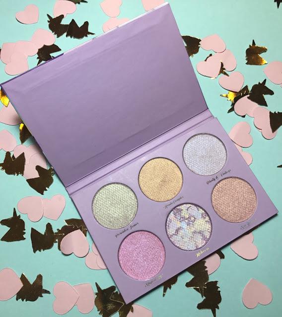 "Tooth & Nail Cosmetics e a paleta de sombras ""Unicorns vs. Mermais"""