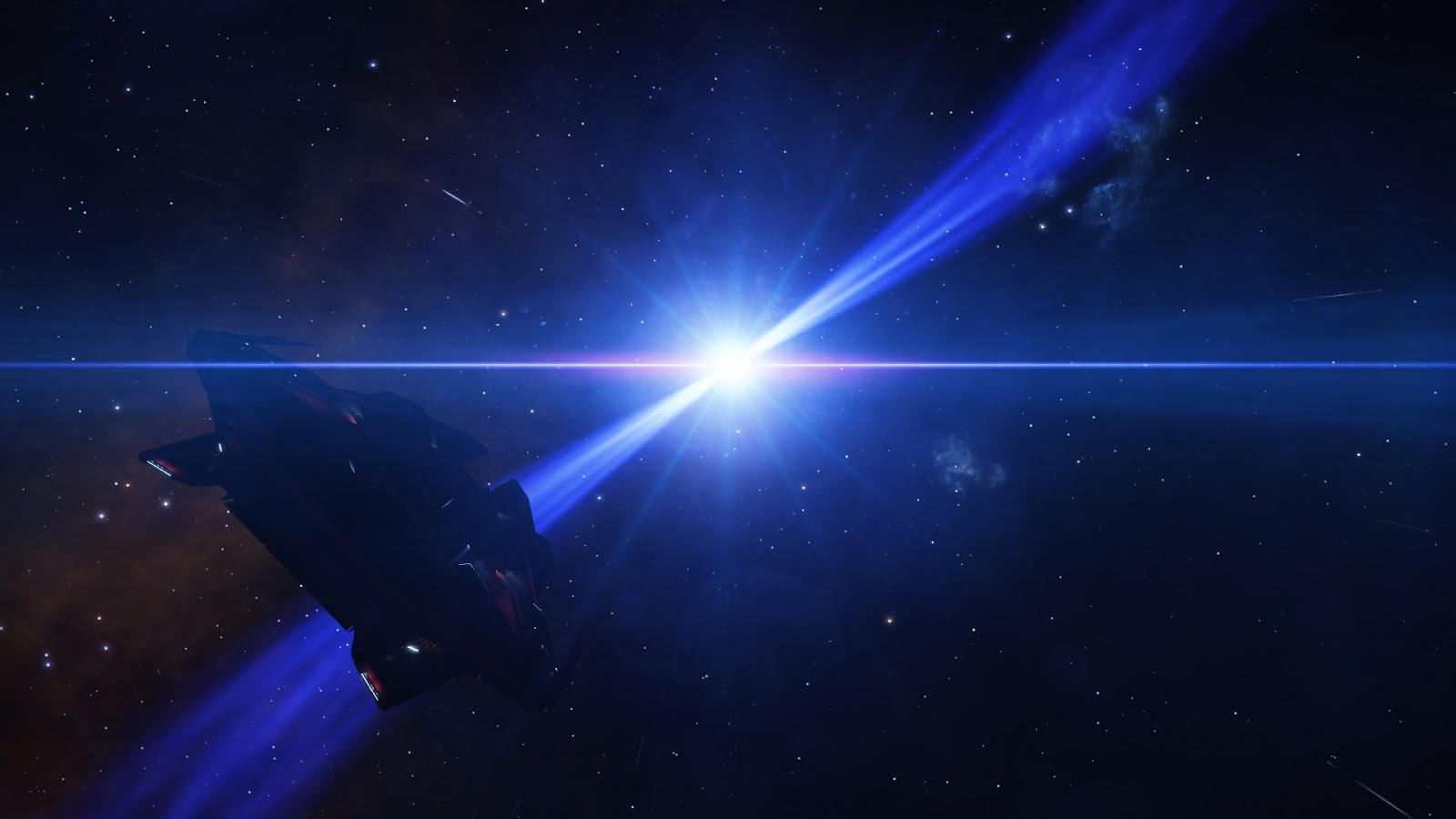 Az űrhajóm egy fehér törpe felé repül.