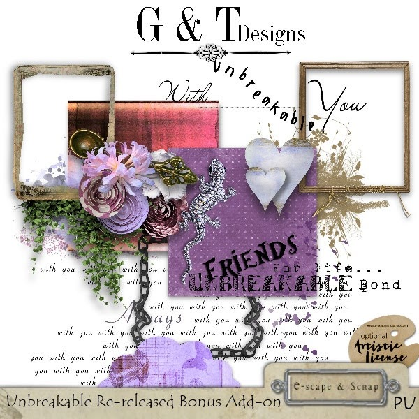 """""""UNBREAKABLE"""" Re-release by G & T Designs"""