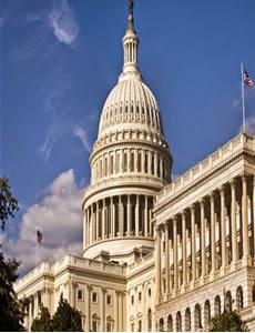 Capitolio de Estados Unidos cerrado