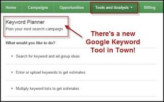 keyword planing tool