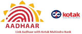 Aadhaar linking with Kotak Mahindra Bank