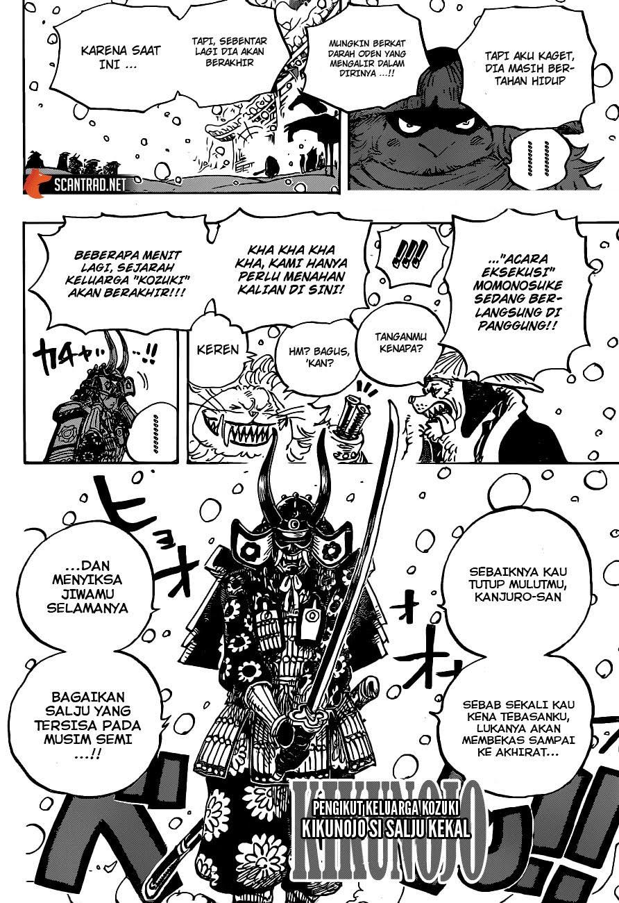 Komik One Piece 985 : komik, piece, PIECE, CHAPTER, RENCANA, ONIGASHIMA