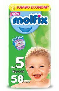 Molfix Diaper No. 5