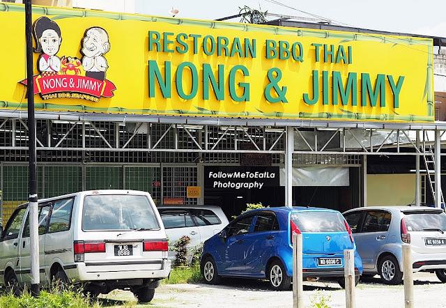 NONG & JIMMY Thai BBQ Seafood At Kampung Baru Ampang