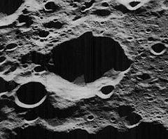 """La Nasa dió nombre a un crater en la luna """"crater parsons"""""""