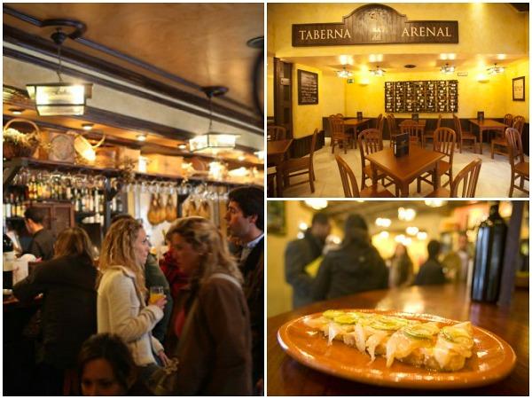 La taberna bar de tapas Sevilla