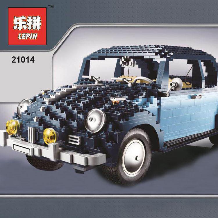 Downtheblocks: Lepin 21014: Volkswagen Beetle Build Preview