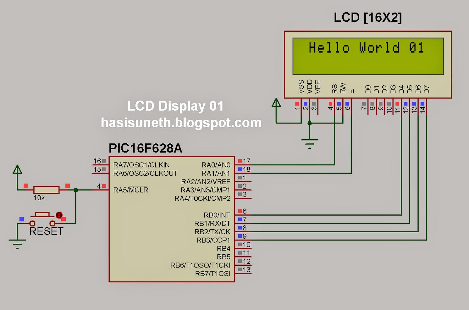 future dreams mikroc tutorial lcd display 01. Black Bedroom Furniture Sets. Home Design Ideas