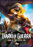Diario de guerra: Saga of Tanya The Evil #13 - ECC Ediciones