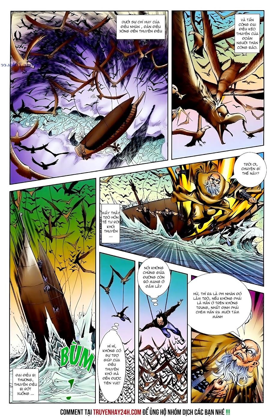 Cơ Phát Khai Chu Bản chapter 99 trang 28