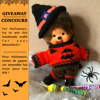 halloween monchhichi concours giveaway kiki sorciere