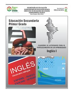 Ingles 1 - Secundaria - Cuaderno de Actividades para el Fortalecimiento de los Aprendizajes
