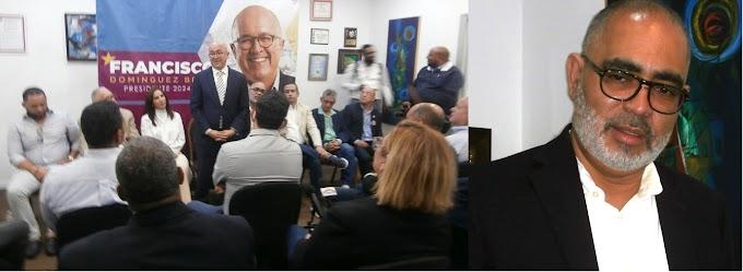 En conversatorio con empresarios dominicanos  en El Bronx FDB  expone presente y futuro de la diáspora