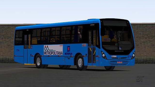 OMSI 2 - Neobus New Mega MB OF-1721, OF-1724 e OF-1724L Euro V padrão Viamão