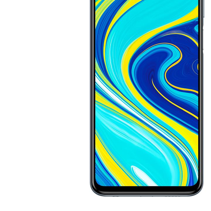 Diseño del Redmi Note 9s