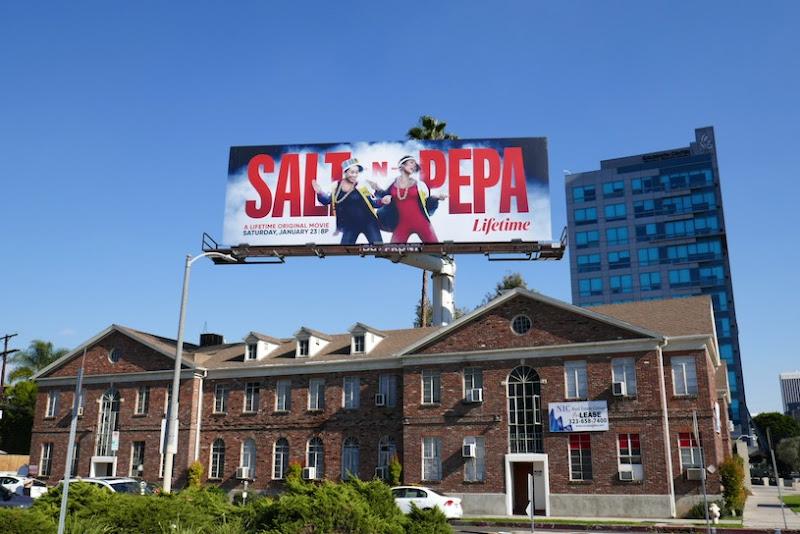 Salt N Pepa Lifetime billboard