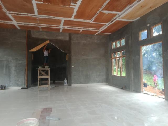 Pembangunan Masjid Diwilayah Binaan, Personel Jajaran Kodim 0207/Simalungun Kompak Dengan Masyarakat Untuk Membangun