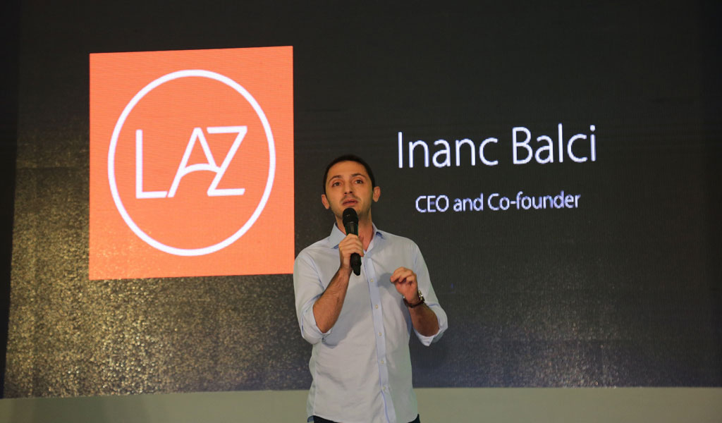 Inanc Balci, CEO and Co-founder of Lazada PH for OPPO F1s Limited Edition