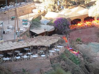 Cafetín en las Cascadas de Ouzoud