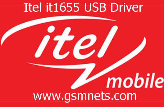 Itel it1655 USB Driver Download