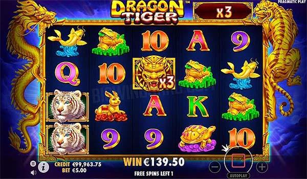 Main Gratis Slot Indonesia - Dragon Tiger  (Pragmatic Play)