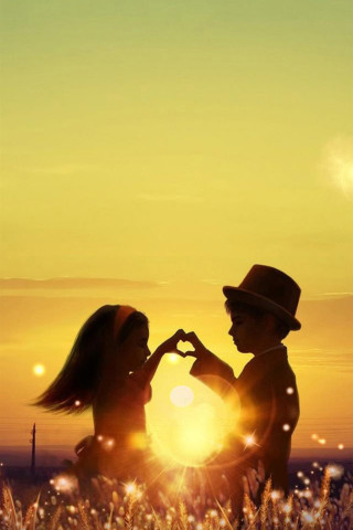 cute child couple Mobile Wallpaper Mobile Wallpapers Download Free Android, iPhone, Samsung ...
