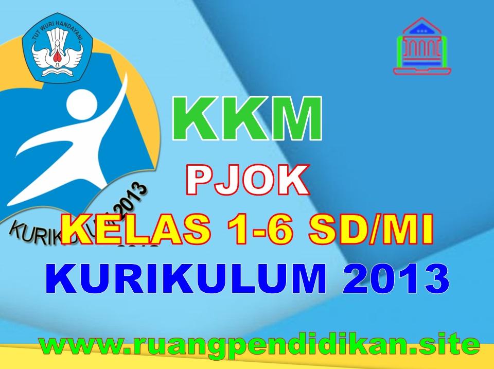 KKM PJOK Kelas 1 2 3 4 5 6 SD/MI