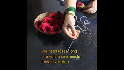 Rose-petal-garland-material-png