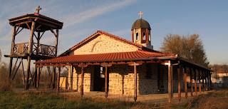 ο νεότερος ναός του αγίου Γεωργίου στο Δροσερό της Εορδαίας