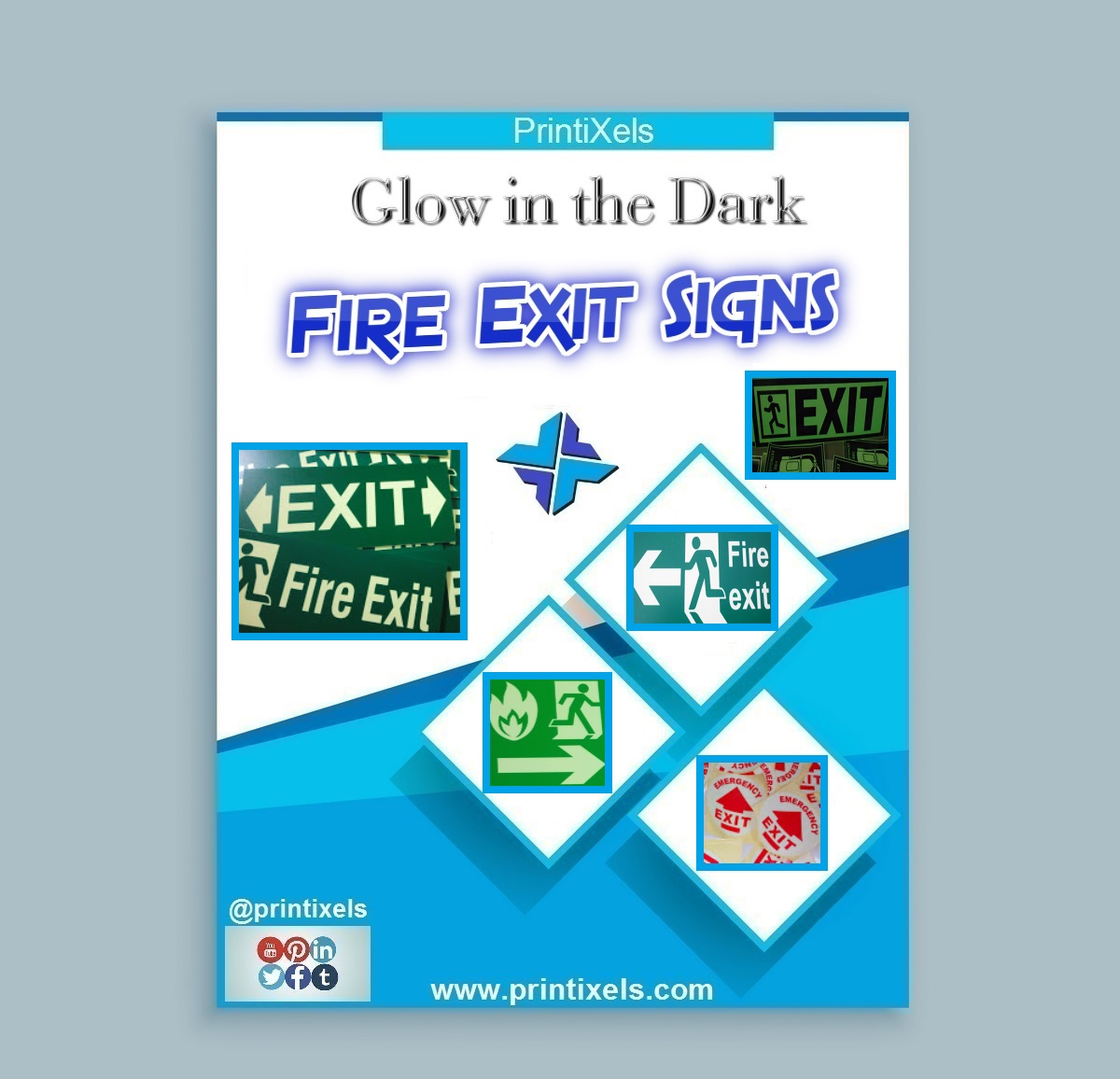 Glow in the Dark Fire Exit Signs Philippines