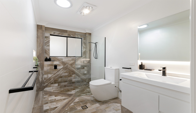 Smart Bathroom Design & Renovation Ideas on a Budget #infographic