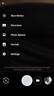 Cara Memunculkan Mode Portrait google camera 3
