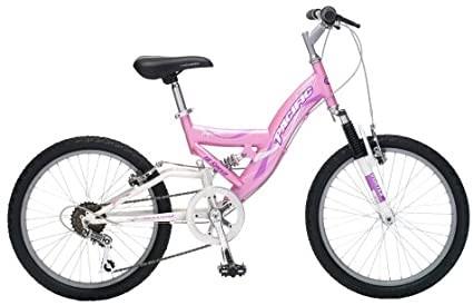 "Pacific Highlander Girl's Dual Suspension Mountain Bike- 24"" wheels"