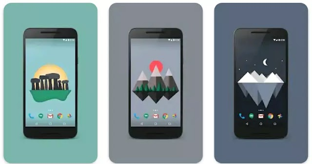Feeling Forest-y?  #1 Material Island Wallpaper App For Android