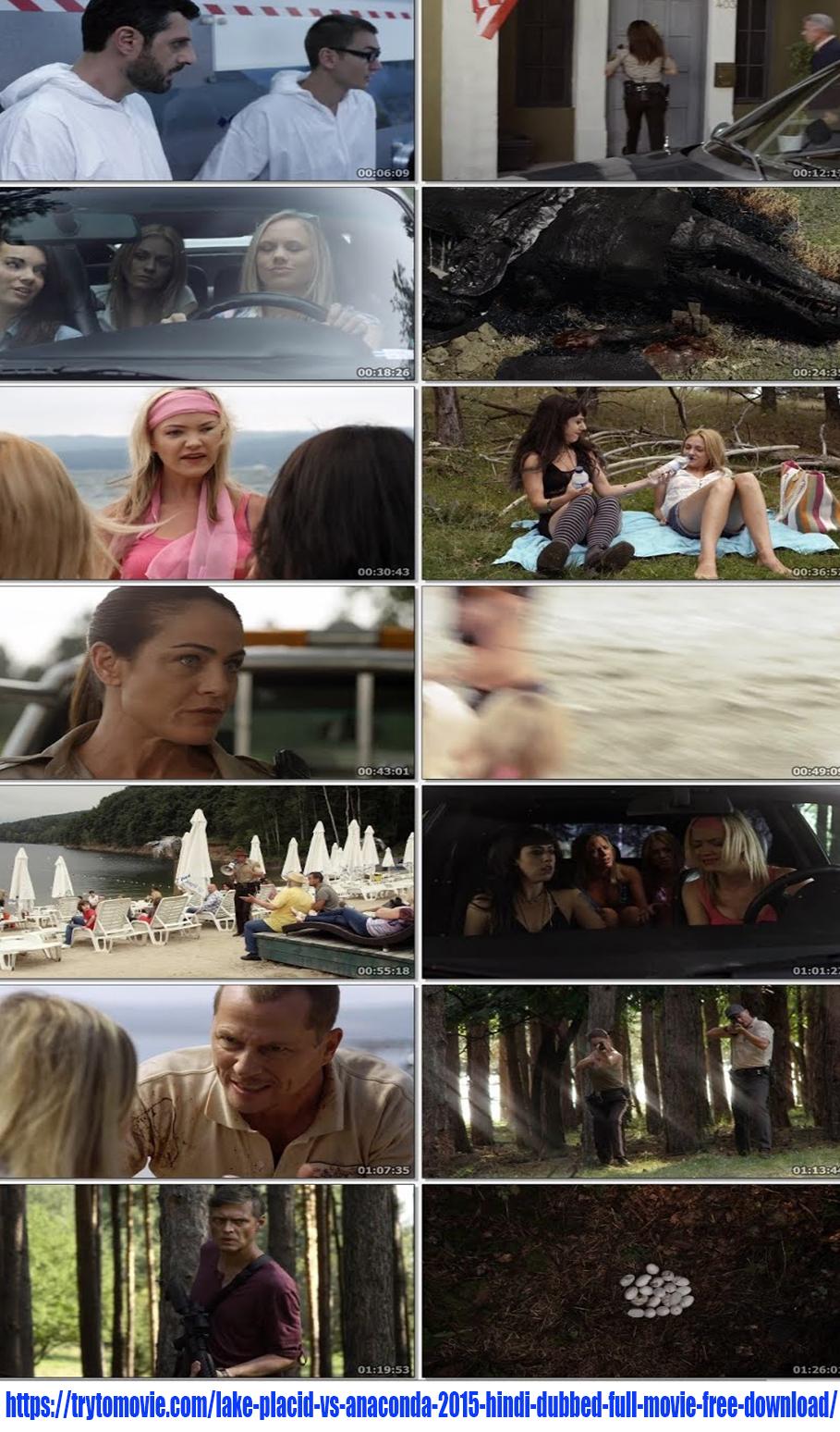 Lake Placid vs Anaconda 2015 Hindi Dubbed Full Movie Screenshot