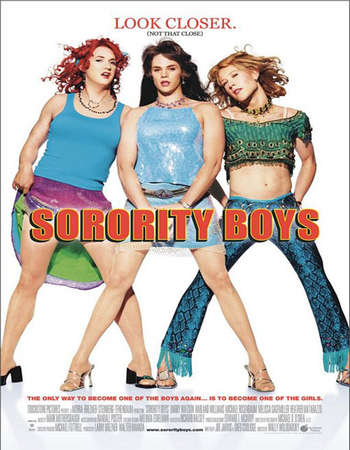 Poster Of Sorority Boys 2002 Dual Audio 300MB Web-DL 480p - UNRATED Free Download Watch Online Worldfree4u