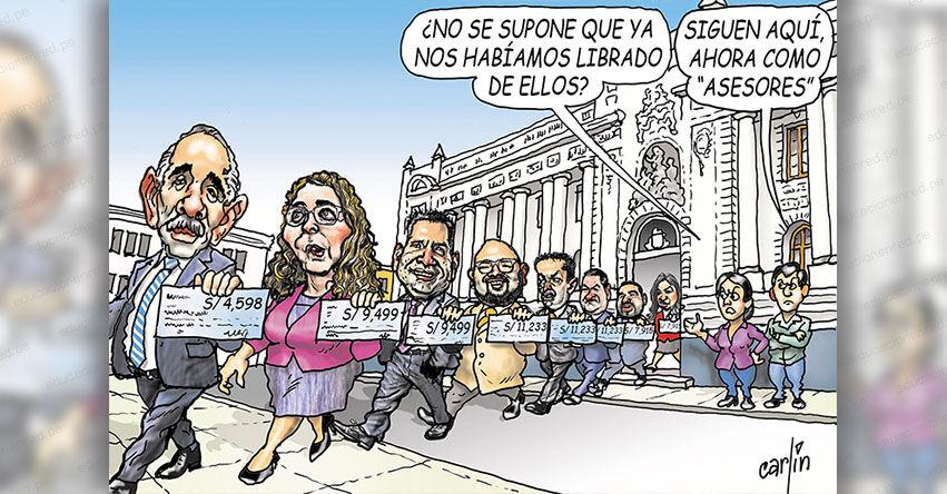 Carlincaturas Lunes 27 Septiembre 2021 - La República