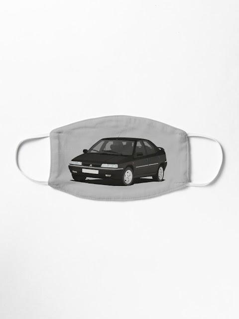 Citroën Xantia maski