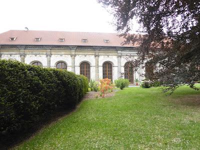 Prague Le château Le jeu de paume dans les jardins royaux