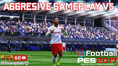 PES 2017 Aggresive Gameplay by PESNewupdate