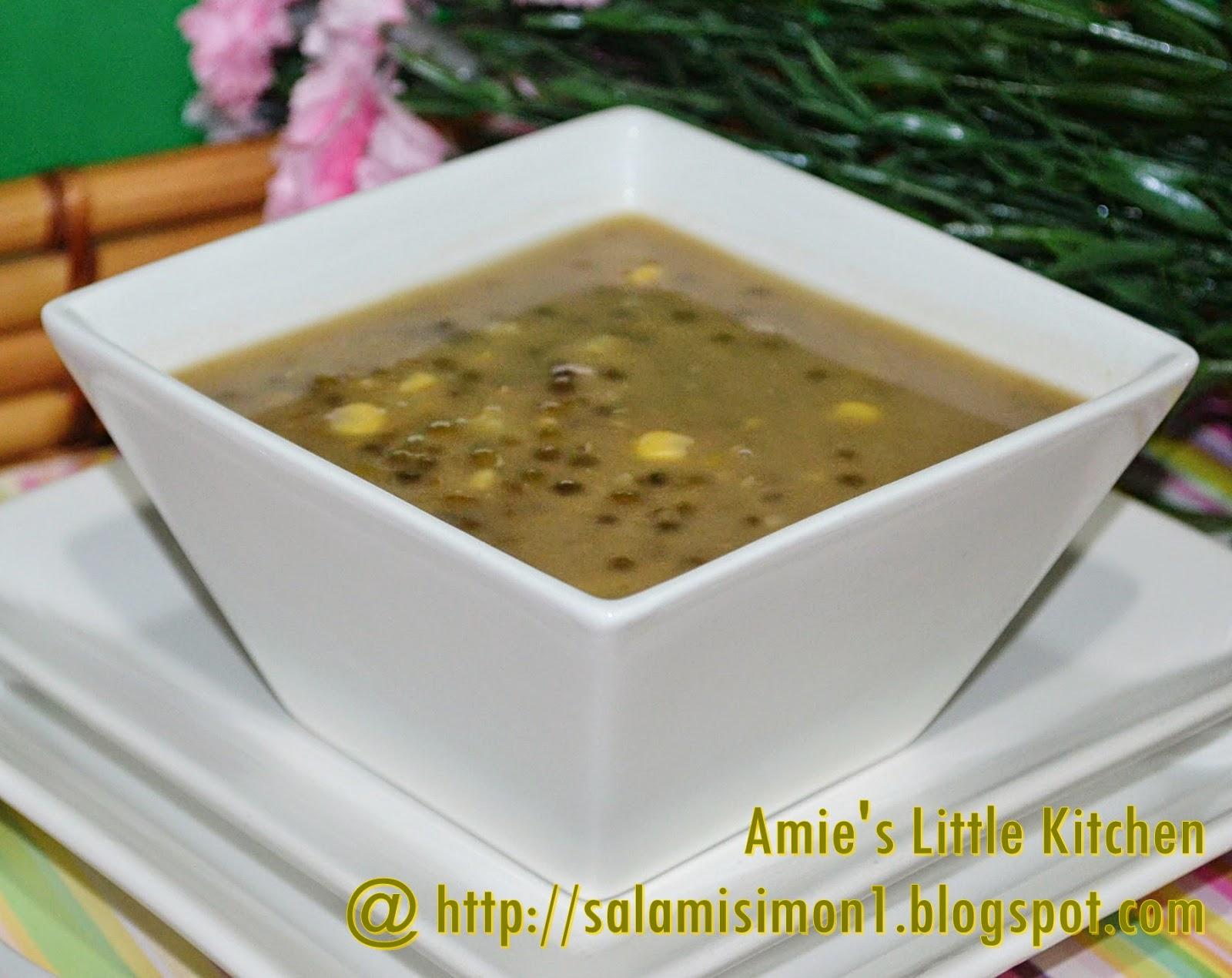 Resepi Bubur Kacang Merah Azie Kitchen Aneka Resepi Bunda