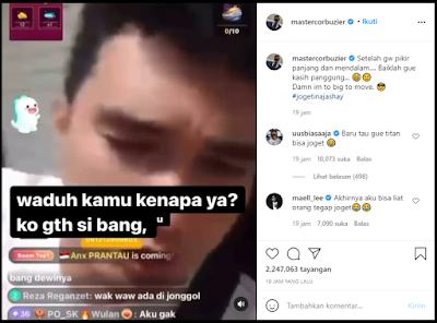 Aldi Taher Sebut Deddy Corbuzier Pansos ke Dinar Candy, Deddy Menanggapinya di Instagram