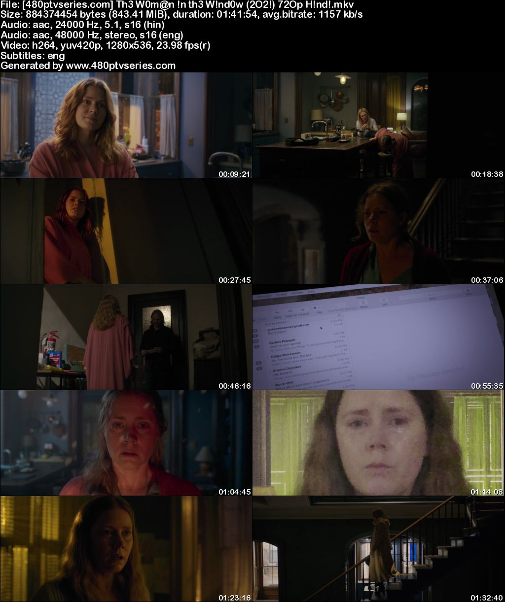 Download The Woman in the Window (2021) 850MB Full Hindi Dual Audio Movie Download 720p Web-DL Free Watch Online Full Movie Download Worldfree4u 9xmovies