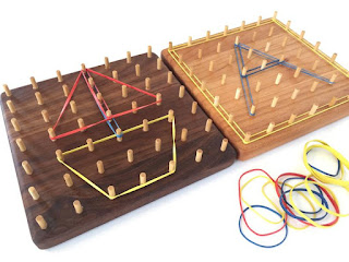 the All Natural Wood GeoBoard on Etsy