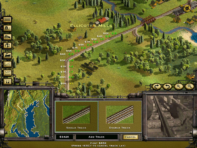 First Tracks screenshot | Railroad Tycoon 2