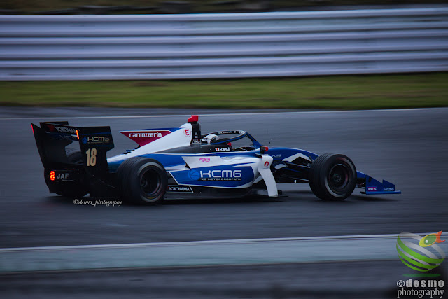 #18_小林 可夢偉, Super Formula Rd.4 FSW Free Practice 1 - Qualyfing