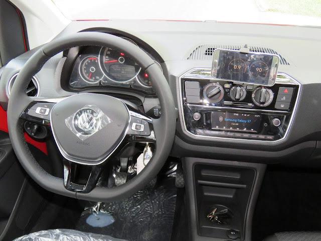 Novo VW Up! 2018 - volante
