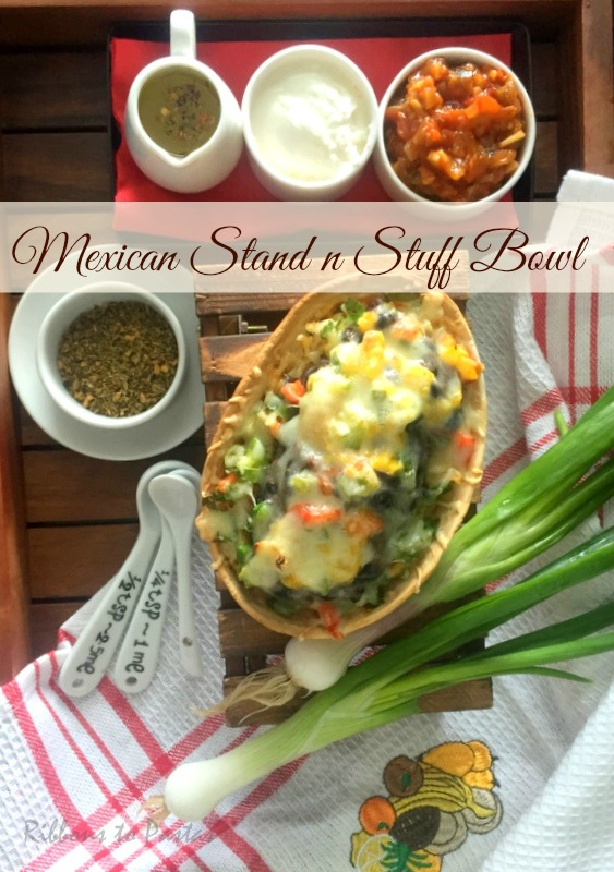 Mexican Stuff and Stand Bowl
