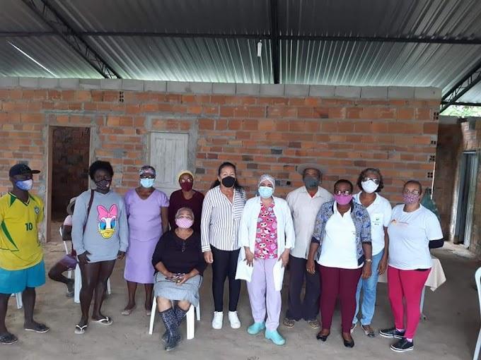 Prefeitura de Serrinha realiza a imunização de 100% da população quilombola do município